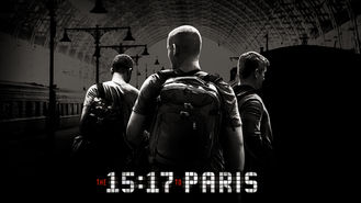 The 15:17 to Paris (2018) on Netflix in Japan